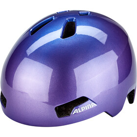 Alpina Hackney Casco Niños, flip flop purple